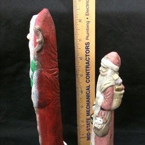 Holiday - Ceramic Skinny Santa Lot
